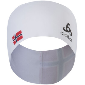 Odlo Competition Fan Warm Headband white-norwegian flag